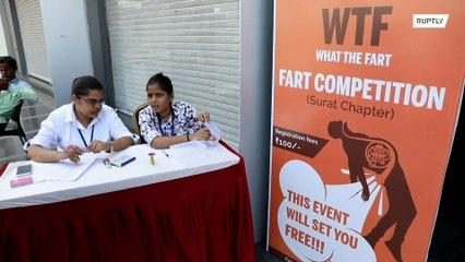 Poca participación en el primer concurso de pedos celebrado en India