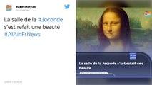 Déplacée pendant deux mois, la Joconde retrouve sa place au musée du Louvre