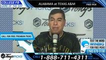 Alabama Texas AM College Football Pick 10/12/2019
