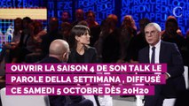 PHOTOS. Charlotte Casiraghi choisit un look noir très sobre pour une interview à la télé italienne