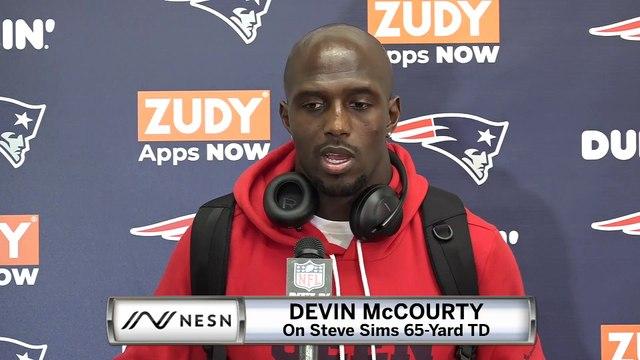 Devin McCourty Patriots vs. Redskins Postgame Press Conference