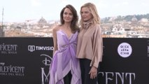 Angelina Jolie and Michelle Pfeiffer at 'Maleficent - Mistress of Evil' Photo Call