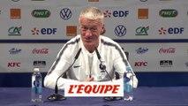 Deschamps répond à Pallois, retraité international, avec humour - Foot - Qualif. Euro - Bleus