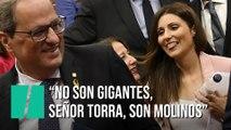 El mensaje de Lorena Roldán a Quim Torra en la moción de censura