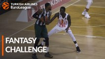 Turkish Airlines EuroLeague RS Round 2: Fantasy Challenge