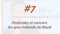 Pesticides et cancers: les gros bobards de Ségolène Royal