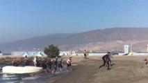Desembarca en la playa de la ciudad de Almería una patera con quince inmigrantes