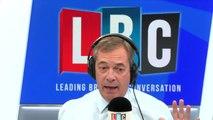 Nigel Farage's Reaction To 'Anarchic' Protestors