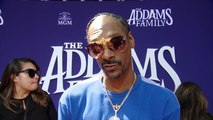 'The Addams Family' Premiere: Snoop Dogg