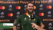 RG Snyman wins Player of the Match against Canada