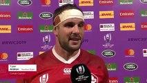 Tyler Ardrons post match interview