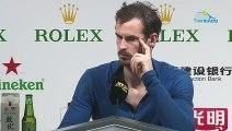 "ATP - Shanghai 2019 - Andy Murray explained on his ""Ferme-la"" to Fabio Fognini"