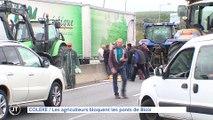Le journal - 08/10/2019 - COLERE Les agriculteurs bloquent les ponts de Blois