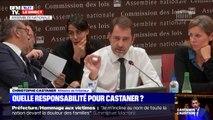 """Christophe Castaner sur Rouen: """"Je n'ai aucun élément qui permette de penser que les fumées soient dangereuses, mais ça ne veut pas dire que ce n'est pas le cas"""""""