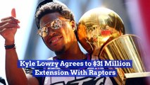 Kyle Lowry Stays With The Raptors