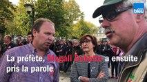 Mobilisation des agriculteurs a Guéret le 8 octobre 2019