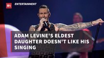 Adam Levine's Daughters See Him Differently