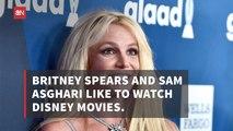 Britney Spears Loves Watching Disney Movies