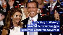 When Arnold Schwarzenegger Was In Politics