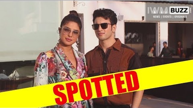 Onscreen mother and son Priyanka and Rohit promote The Sky is Pink