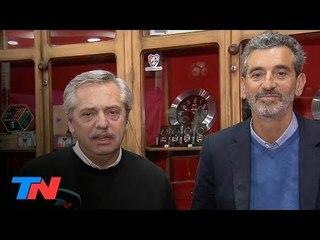 Alberto Fernández y Florencio Randazzo, juntos: entrevista en TN Central