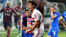 As chances de título, G4 e rebaixamento no Brasileirão