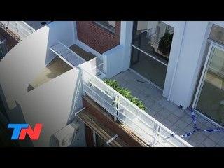 La terraza de la tragedia de Ezequiel Esperón, el futbolista que murió al caer al vacío