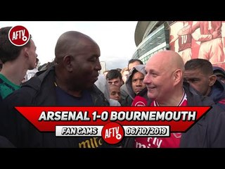 Arsenal 1-0 Bournemouth | I Think We'll Get Top 4 But Emery Still Needs Replacing! (Claude)
