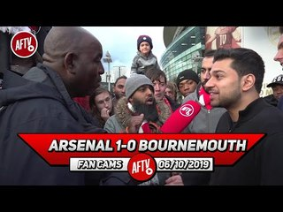 Arsenal 1-0 Bournemouth | We Haven't Dominated Any League Games This Season! (Afzal)