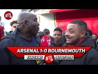 Arsenal 1-0 Bournemouth | Chambers Was Immense + Guendouzi & Xhaka Did Well! (Troopz)
