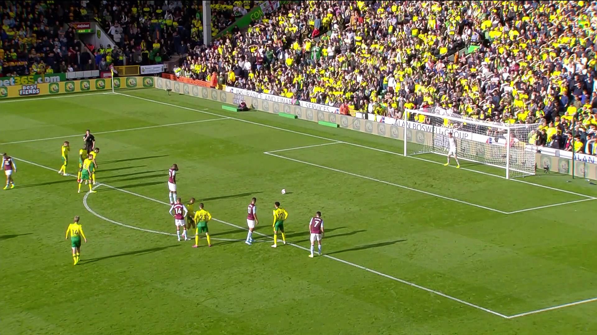 8. Hafta / Norwich City - Aston Villa: 0-5 (Özet)