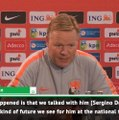 Sergino hasn't decided on USA or Netherlands yet - Koeman