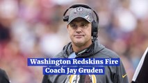 Coach Jay Gruden Is Out At Washington Redskins