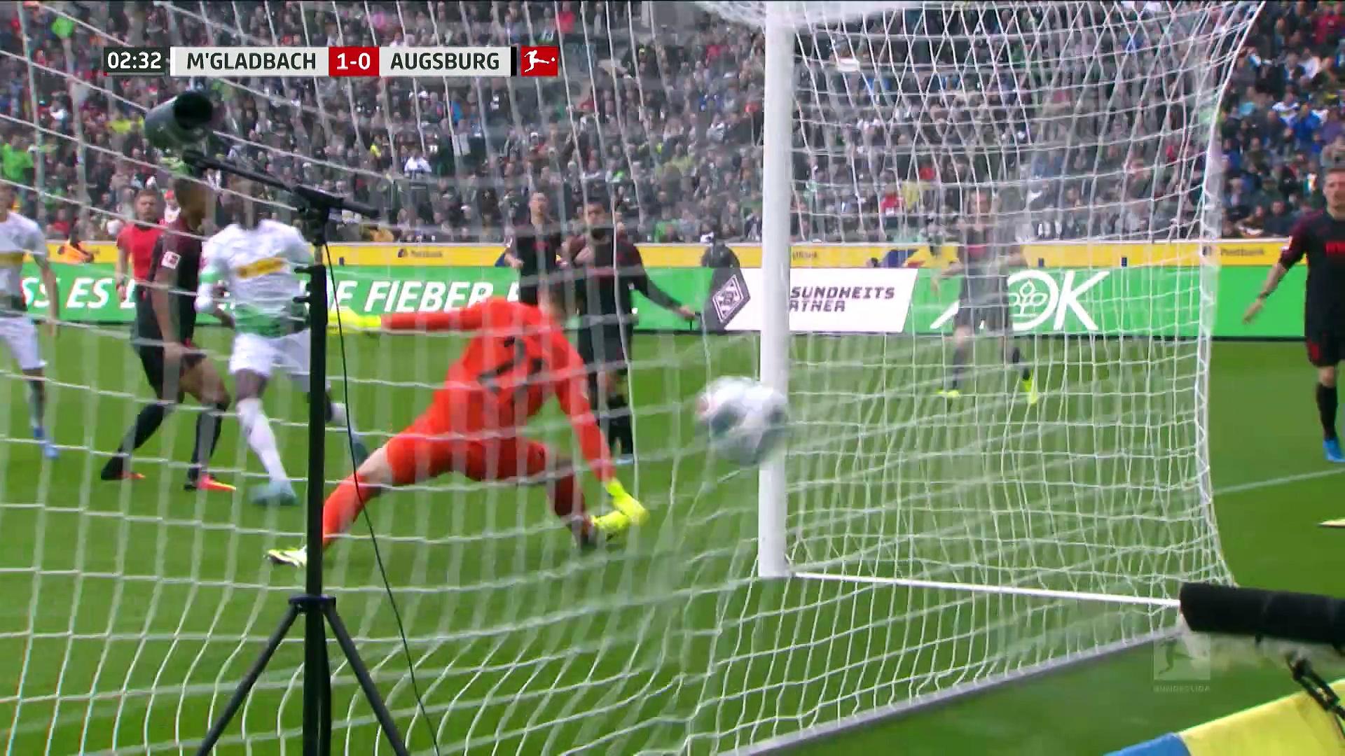 7. Hafta / M'Gladbach - Augsburg: 5-1 (Özet)