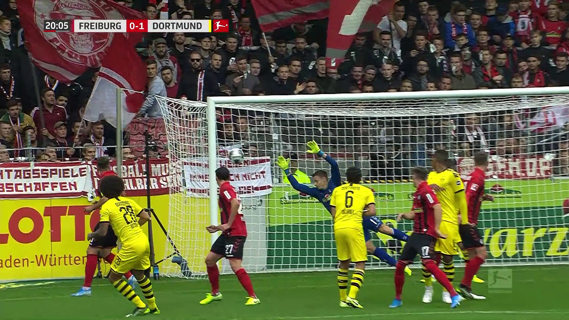 7. Hafta / Freiburg - Borussia Dortmund: 2-2 (Özet)