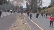Indígenas ecuatorianos se desplazan a Quito para gran manifestación