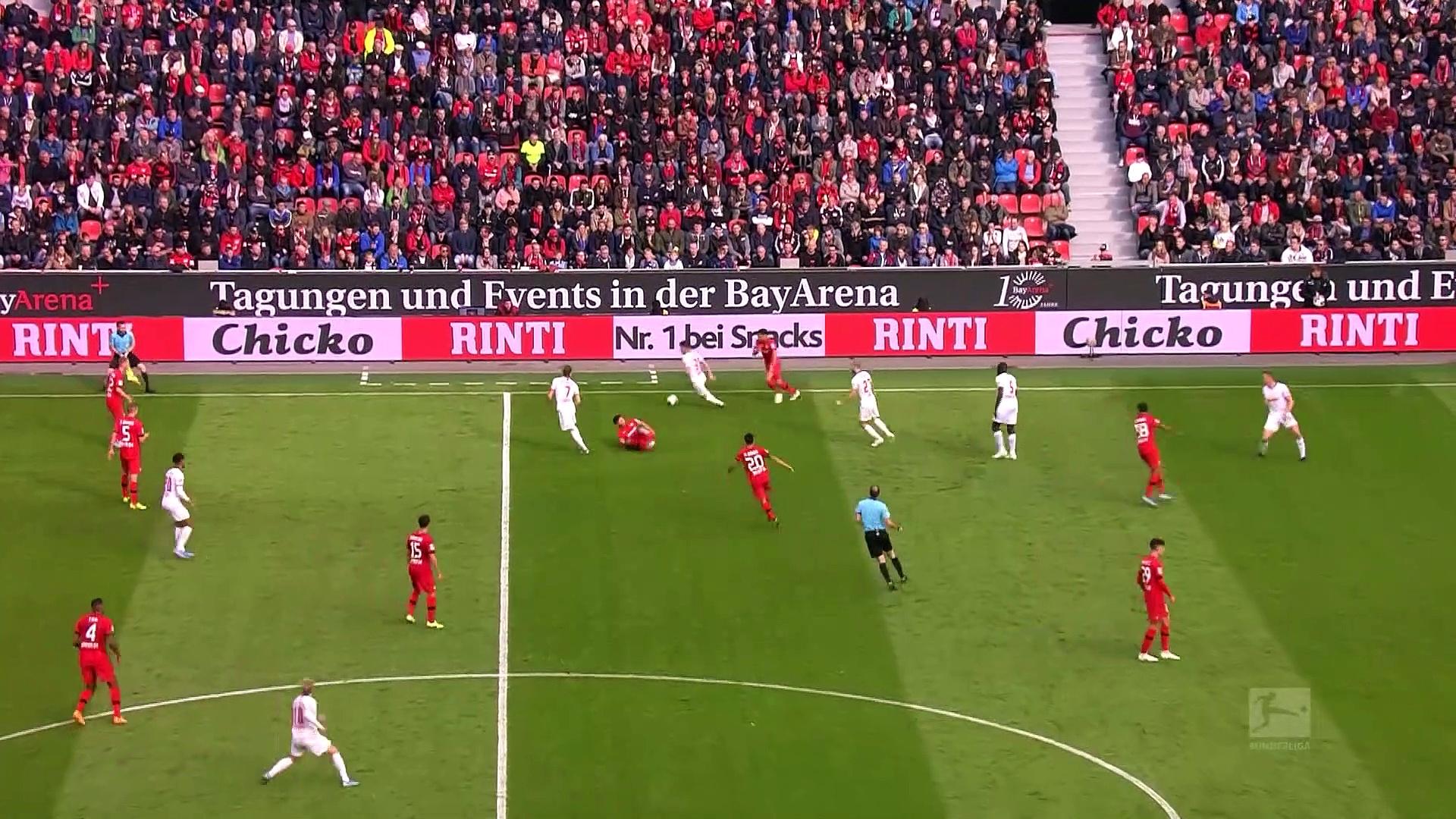 7. Hafta / Bayer Leverkusen - Leipzig 1-1 (Özet)