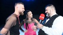 Eduart Ndocaj, Mateus Frroku dhe Eliona Pitarka ( Nata 3 Dance With Me Albania 6 ) Backstage