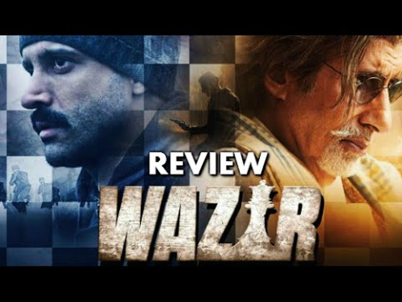 Wazir Movie Review   Farhan Akhtar, Amitabh Bachhan, Neil Nitin Mukesh, John Abraham