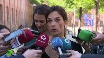 Dimite Clara Serra como diputada de la Asamblea de Madrid