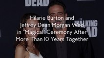"""Hilarie Burton and Jeffrey Dean Morgan Wed in """"Magical"""" Ceremony After More Than 10 Years Together"""