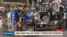 GM Talks With UAW Take Turn for Worse