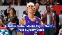 Justin Bieber Is In Hot Water For Mocking Taylor Swift