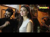 Spotted Amitabh Bachan, Abhishek Bachchan and Athiya Shetty at a Studio in Mumbai | SpotboyE