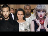 Calvin Harris parties with Kim and Kanye at Jennifer Lopez's early birthday party | Hollywood High