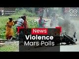 Violence Mars WB Polls