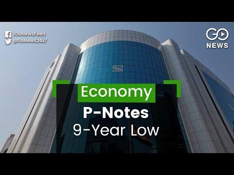 P-Note Investments Plummet