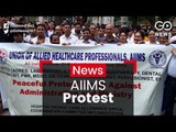 AIIMS Protest