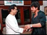 Shahrukh Khan Meets Raj Thackeray at his home over Raees Release | SpotboyE