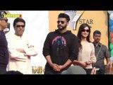 Arjun Kapoor and Raj Thackeray Spreads Smiles at a Street Festival | SpotboyE